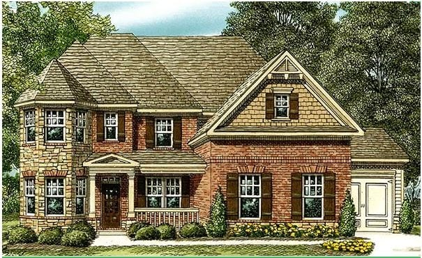 Alpharetta new construction homes save 50k north for Recommended builders